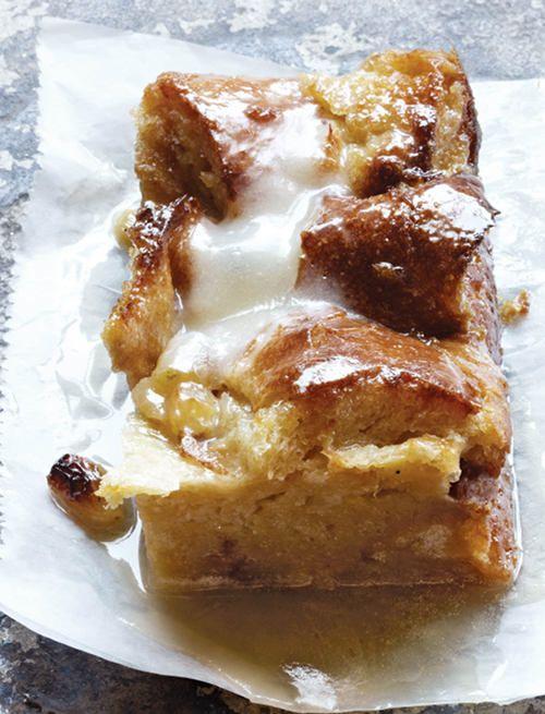 Bourbon Bread Pudding.
