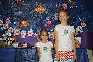 Finding Nemo Party Idea