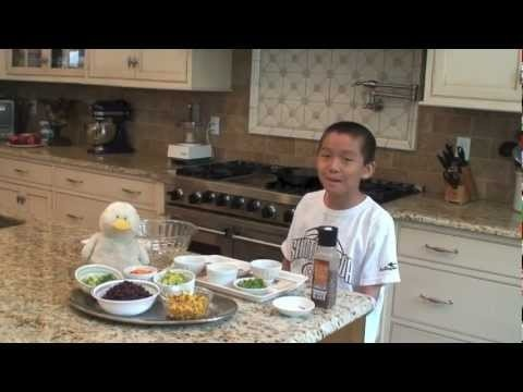 VIDEO: How To Make Roasted Corn, Black Bean and Avocado Salsa #video #kids @Jeanette