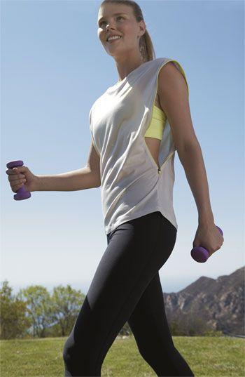 Nike Top, Bra & Capris #NordstromActive #fitness