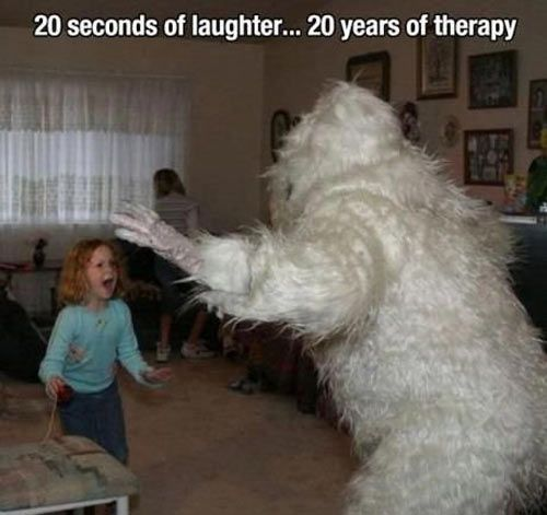 20 seconds of laughter…