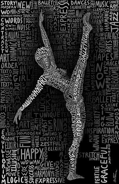 The Dancer by Ben Heine