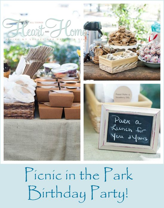 picnic in the park birthday party
