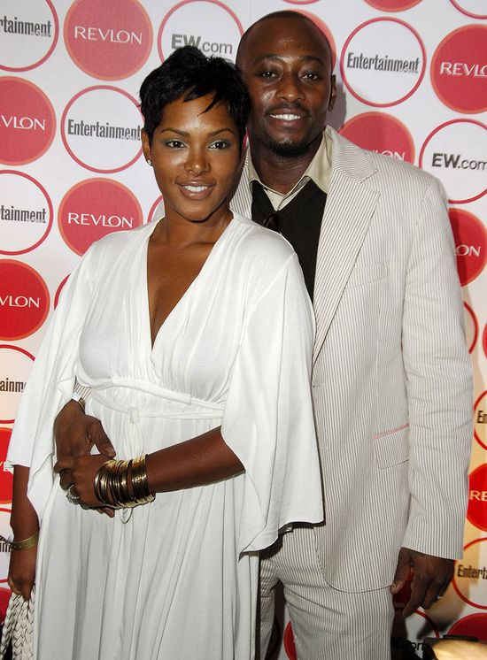 The Top 21 Celebrity Cutie Couples - Cute together! Omar and Keisha Epps (remember her from Total?) Looking good mama!