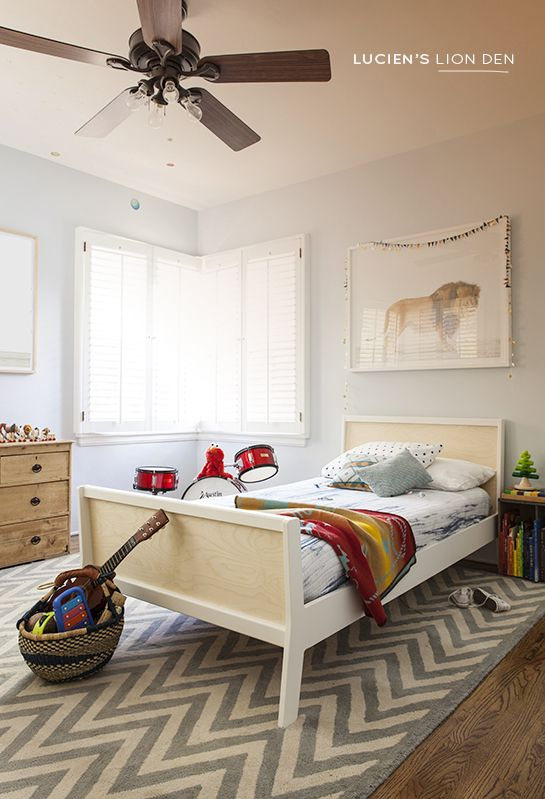 KID ROOM DESIGN: LUCIEN'S LION DEN.
