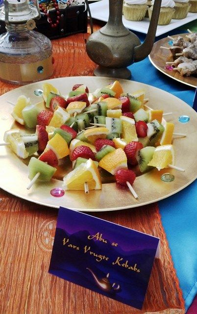 Abu's Fresh Fruit Kebabs