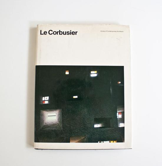 Vintage Le Corbusier Architecture Book