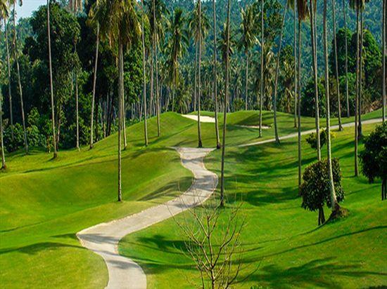 Santiburi golf course at Paradise Beach Resort, Koh Samui