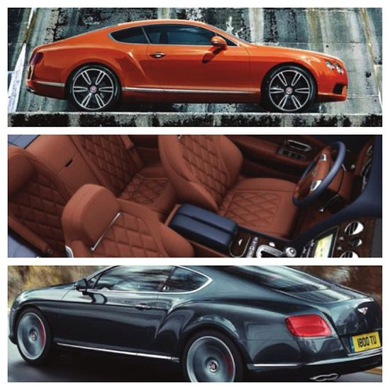 Absolutely stunning shots of the Bentley Continental GT V8