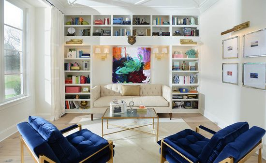 Library  Interiors: Lori Paranjape, Redo Home & Design
