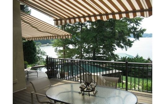 patio design with awning - Home and Garden Design Ideas