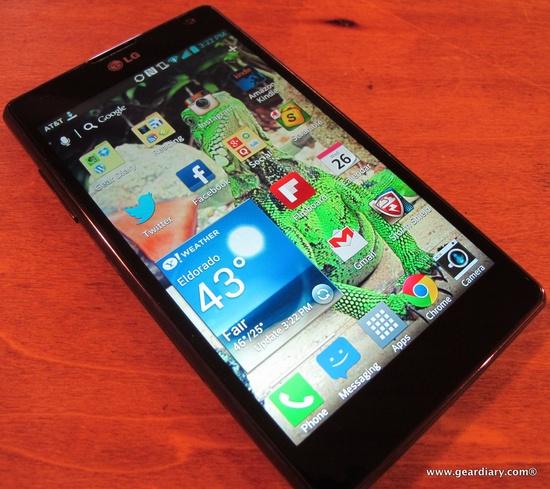AT LG Optimus G Android Phone Review