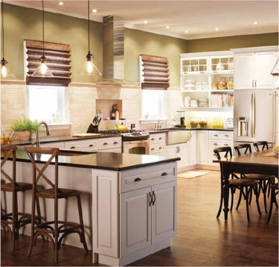 The Bright and Classic Kitchen from The Home Depot (reno envy!)