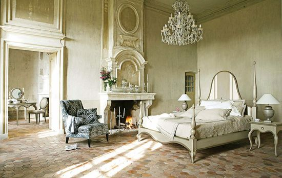 Luxury French Bedroom Furniture with Fireplace Ideas: Luxury French Bedroom Furniture with Fireplace Ideas