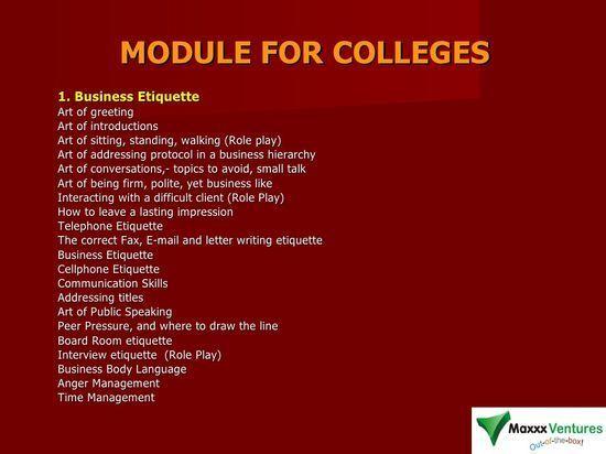 Soft Skills Training Modules for College #soft skills #softskills #self personality