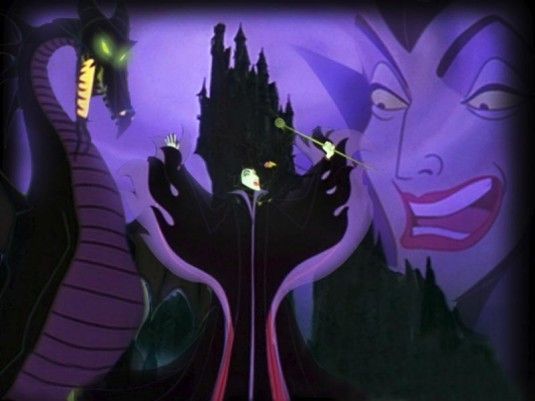Maleficent from Sleeping Beauty creeps me out to this day!
