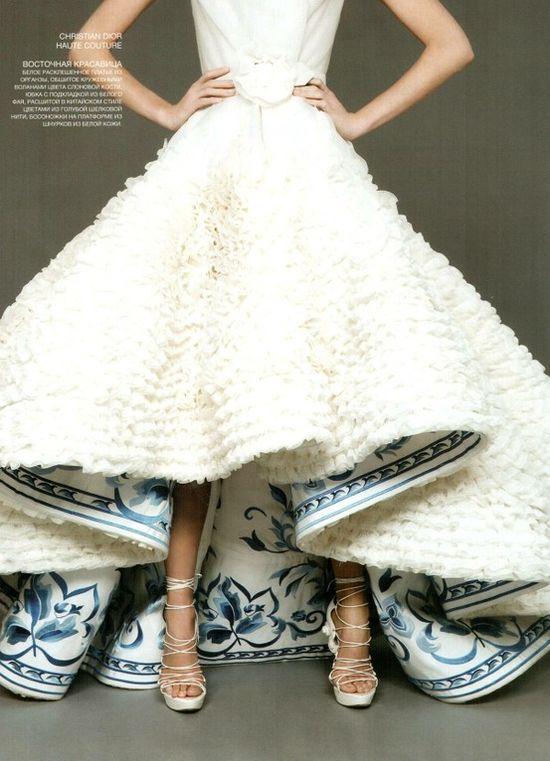 something blue :) #wedding #dress