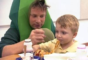 Jamie Oliver loves kids