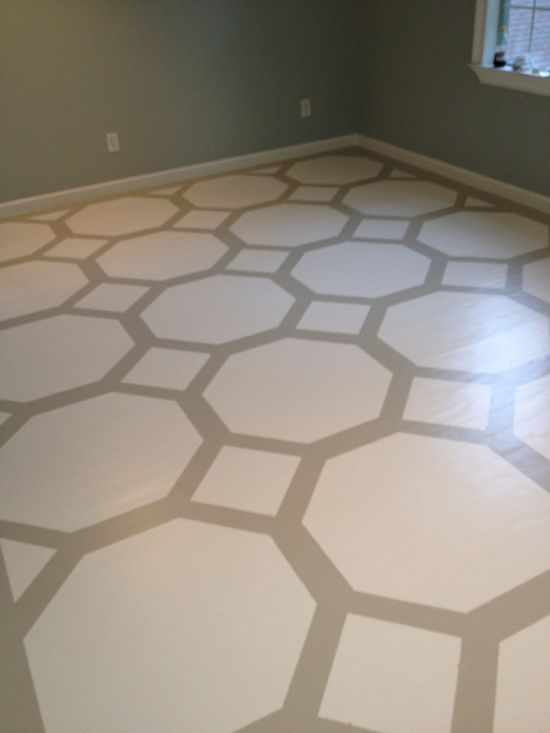 Octagon floor design submitted by Miguel