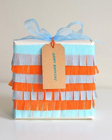 Cute gift wrap!