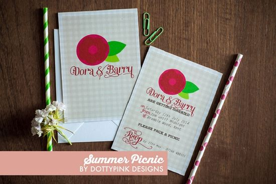 The New 2014 Collection from Dotty Pink Designs // Summer Picnic