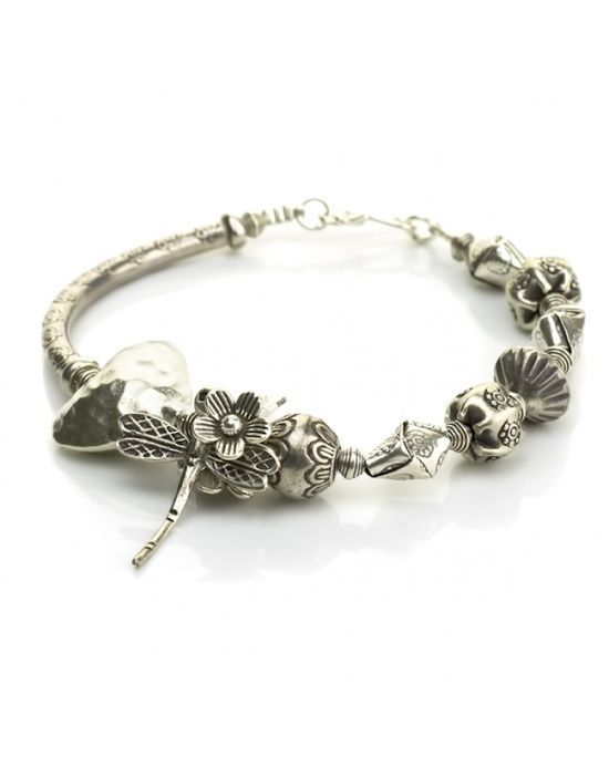 Handmade Silver Jewelry Dragonfly Silver