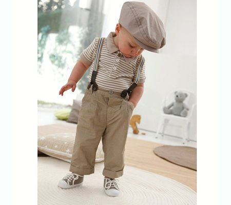 Gah! Adorable outfits for baby boys. So cute!