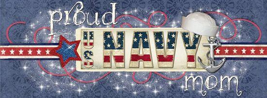 Proud US Navy Mom FaceBook TimeLine graphic Banner instant download