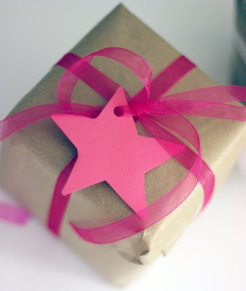 * gift wrapping