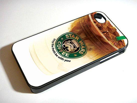 star wars coffee  iPhone 4 Case iPhone 5 casesamsung by Taurange, $18.00