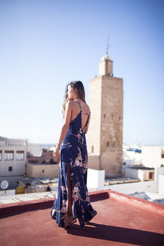 Maxi Dress on Song of Style > songofstyle.blogs...