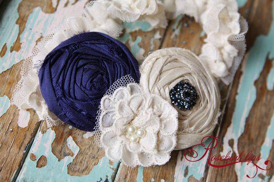 wedding garter - something blue!
