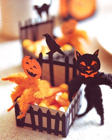Vintage Halloween crafts!
