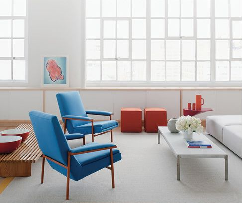 Home Design Collections Primary Colors Used In Interior Decor Mid Century Modern Industrial