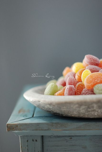 Fruit salad candies