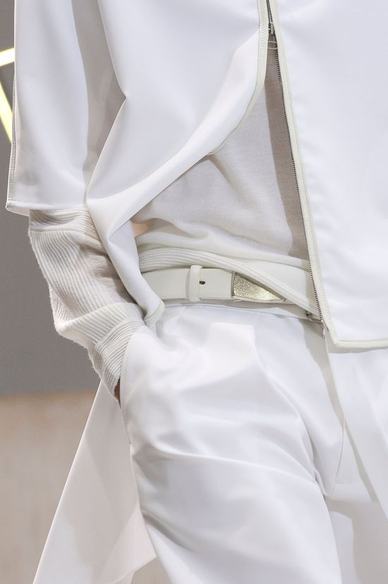 No hiding good taste and classy clothes. Phillip Lim S/S 2013.