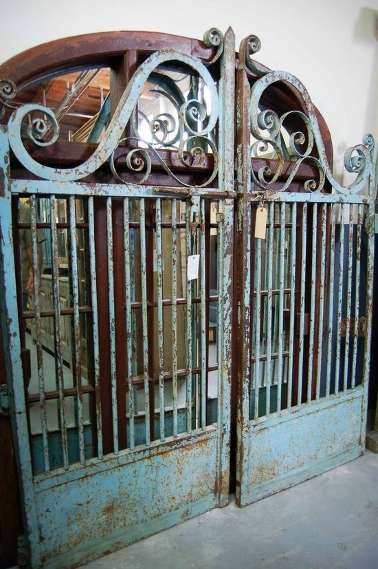 love this old gate!
