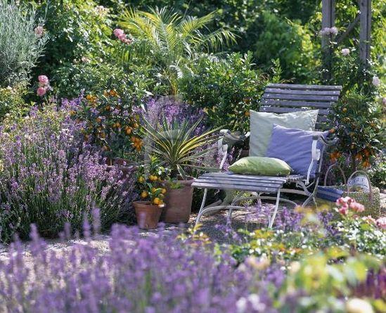 Mi Mundo Shabby Chic: Jardines