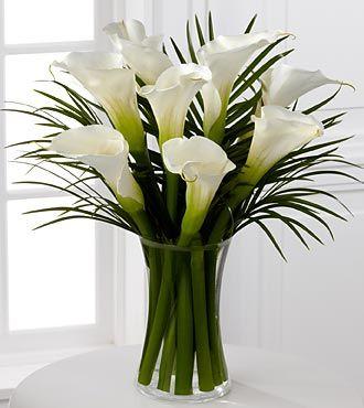 Calla floral bouquet