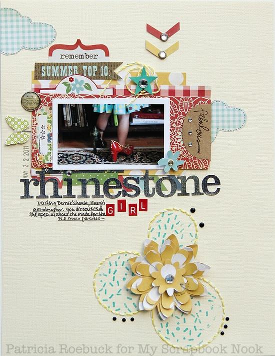 Rhinestone Girl - Scrapbook.com