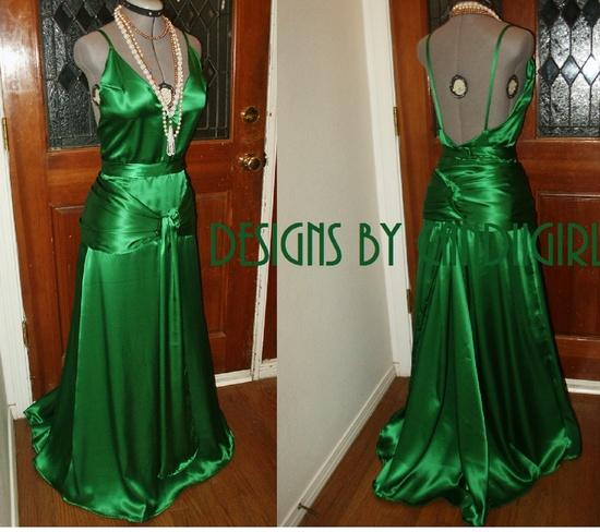 emerald green wedding dress - Google Search