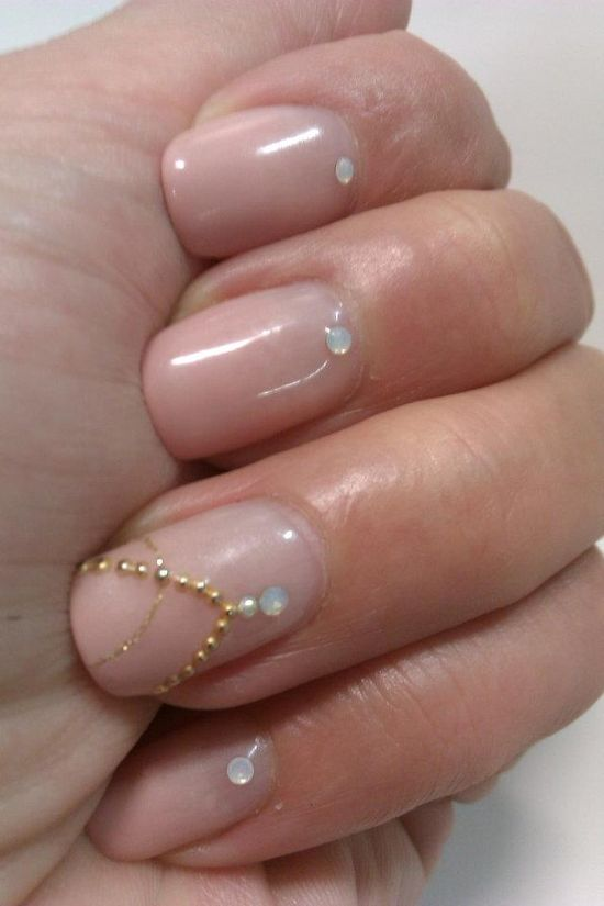 Necklace Nail design #nails #polish