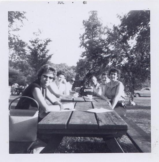 foodless picnic by Millie Motts, via Flickr