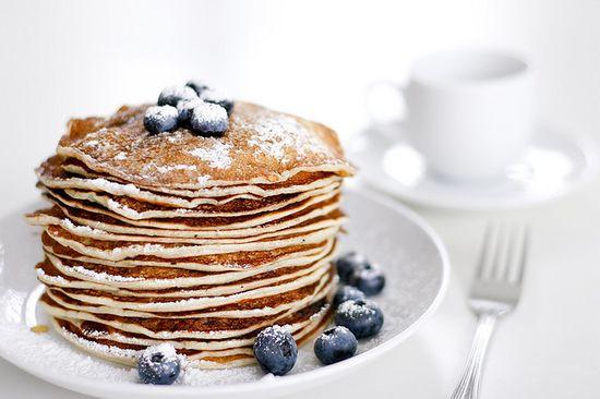*Blueberry Pancakes