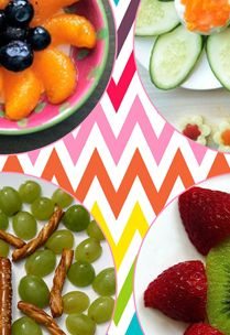 Super fun {and HEALTHY} snacks for kids - great for summer when kids are home and hungry!