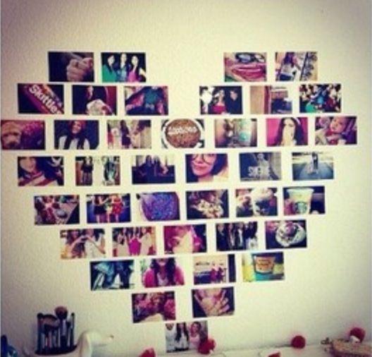 Cool wall art { inspire by Macbarbie07 #creative handmade #diy fashion