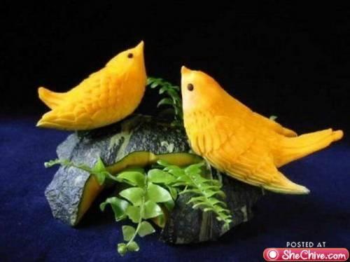 food-sculptures
