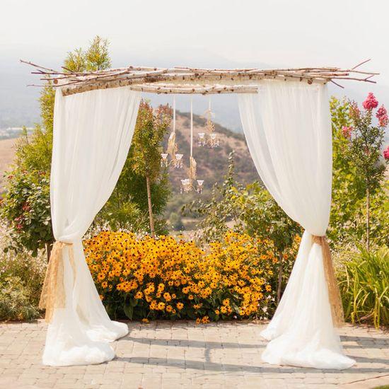 Elegant Vineyard wedding