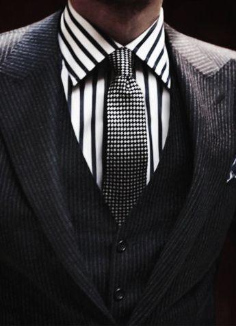 Black & white combo; sleek