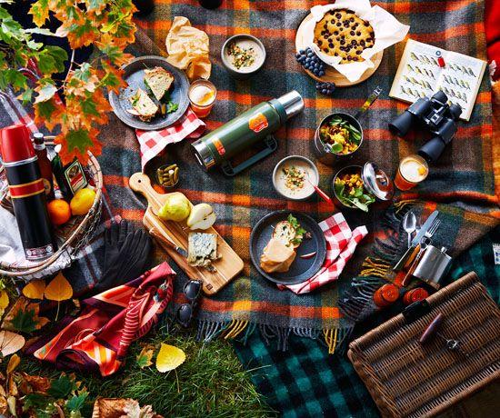 Autumn picnic.